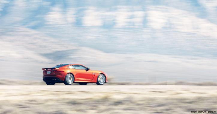 Michelle Rodriguez Roars Past 200MPH in F-Type 11
