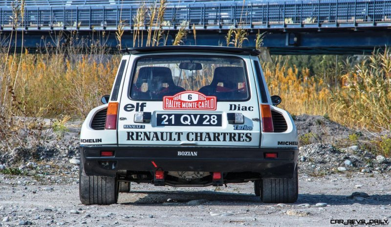 RM Monaco 2016 - 1982 Renault 5 Turbo Group 4 Rally Car  10