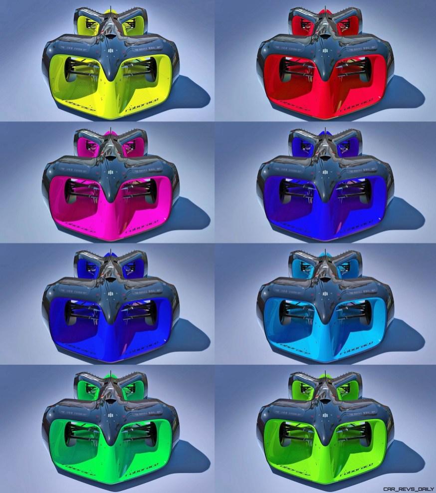 RoboRace RoboCar Colors 8-tile