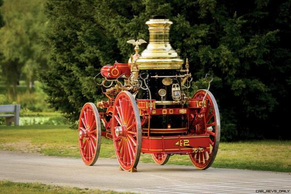 1894 Silsby Fourth Size Horse-Drawn Steam Pumper 22