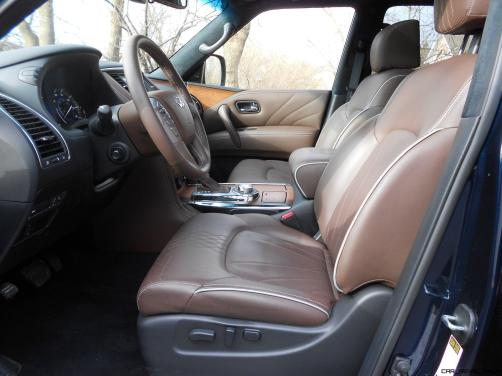 2016 INFINITI QX80 Limited AWD Interior 4