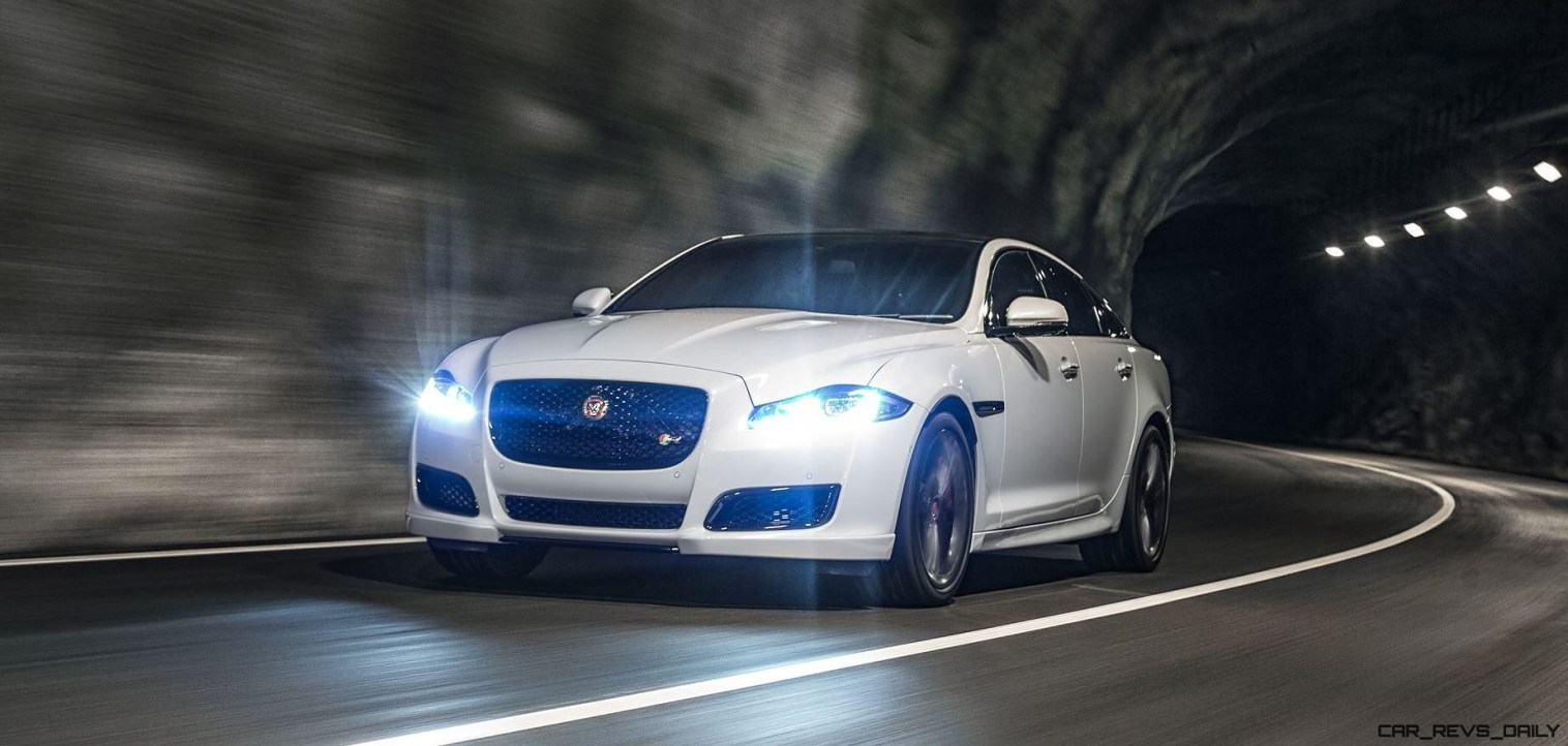 2016 Jaguar XJ Skyroad Paxi Expressway China 20