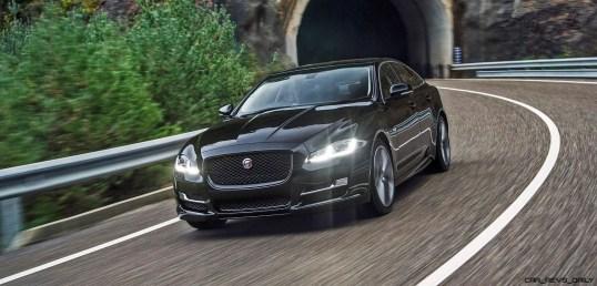 2016 Jaguar XJ Skyroad Paxi Expressway China 2334