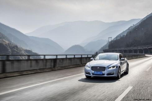 2016 Jaguar XJ Skyroad Paxi Expressway China 33
