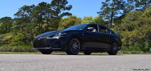 2016 Lexus GS-F Caviar Black 19