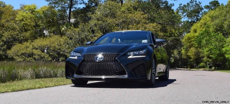 2016 Lexus GS-F Caviar Black 23