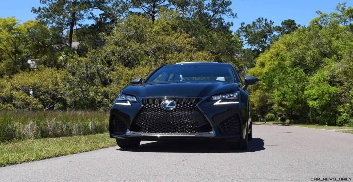 2016 Lexus GS-F Caviar Black 24