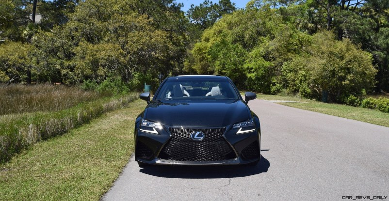 2016 Lexus GS-F Caviar Black 3