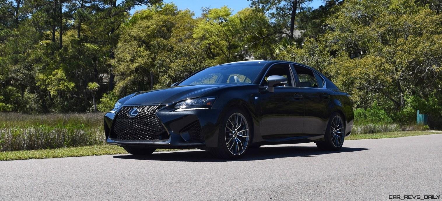 2016 Lexus GS-F Caviar Black 30