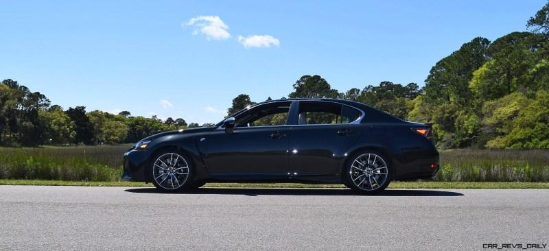 2016 Lexus GS-F Caviar Black 36