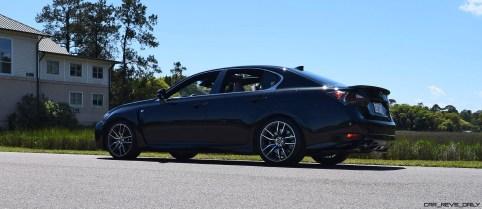 2016 Lexus GS-F Caviar Black 39