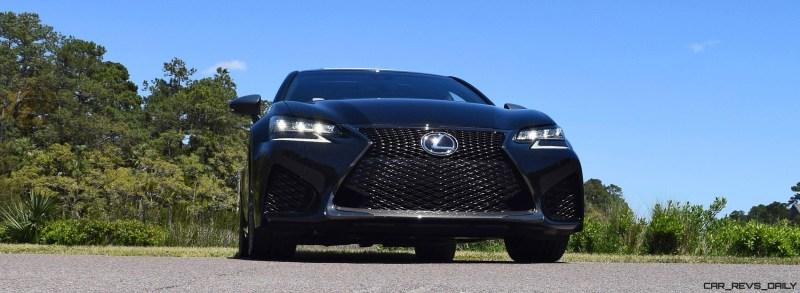 2016 Lexus GS-F Caviar Black 50