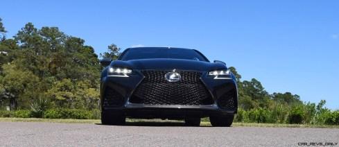 2016 Lexus GS-F Caviar Black 51