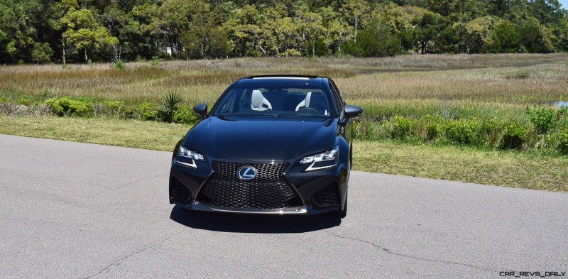 2016 Lexus GS-F Caviar Black 58