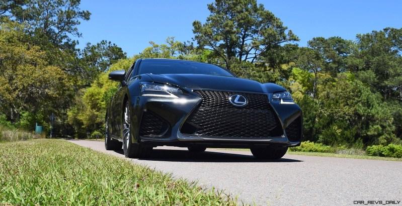 2016 Lexus GS-F Caviar Black 6
