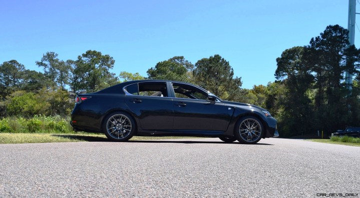 2016 Lexus GS-F Caviar Black 63