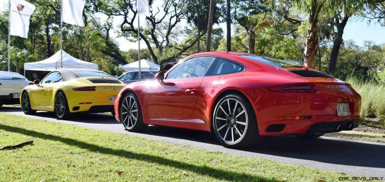 2017 Porsche 911 Guard Red 1