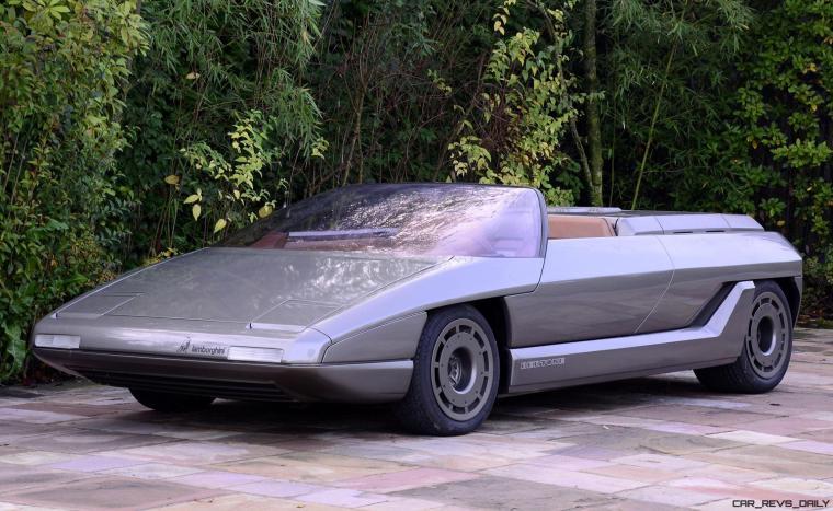 Concept Debrief - 1980 Lamborghini ATHON Speedster by Bertone 6
