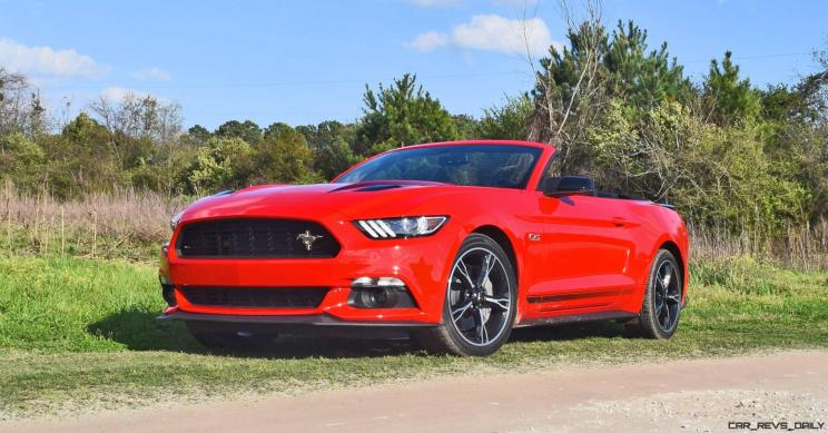 Red 2016 Ford Mustang GT California Special 2