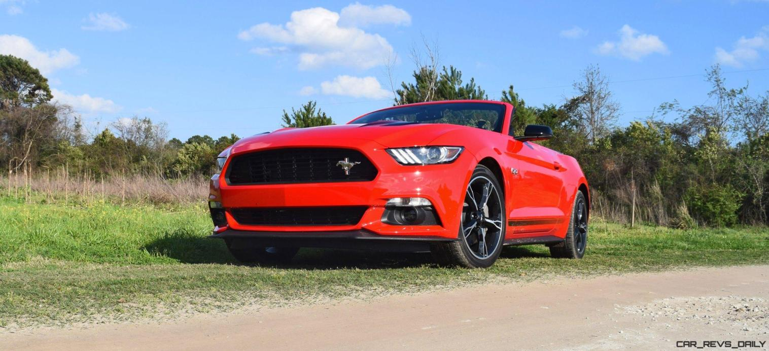 Red 2016 Ford Mustang GT California Special 9