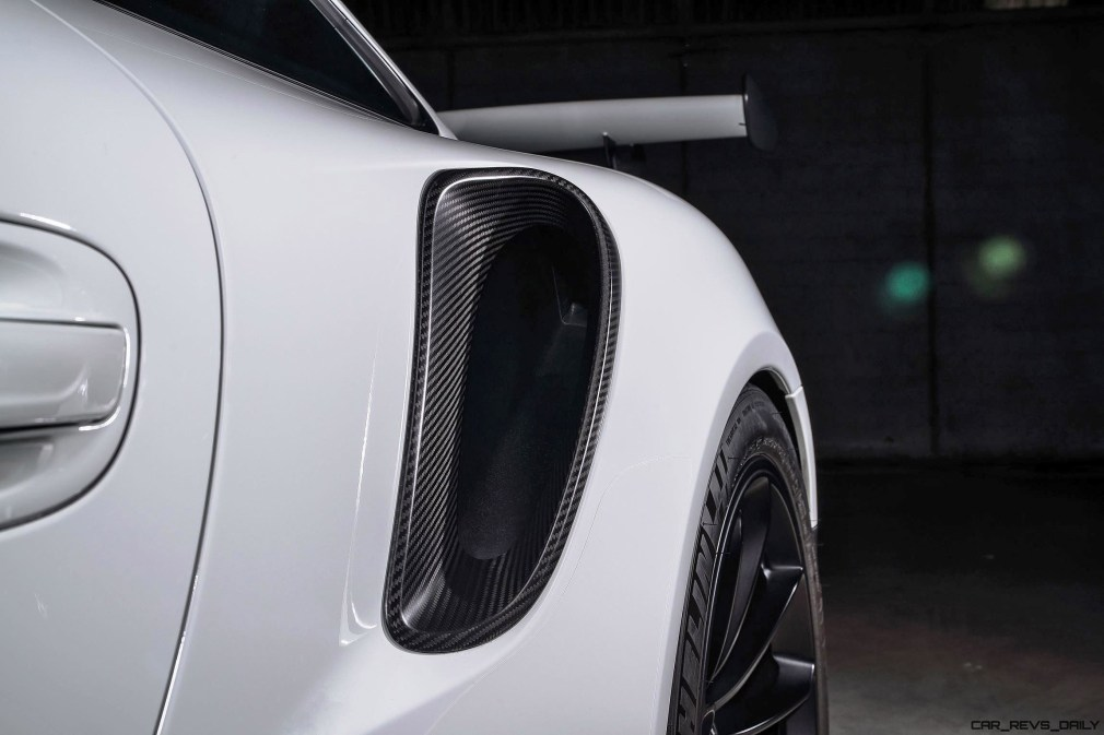 TECHART Carbon Sport Package for the 911 GT3 RS 12