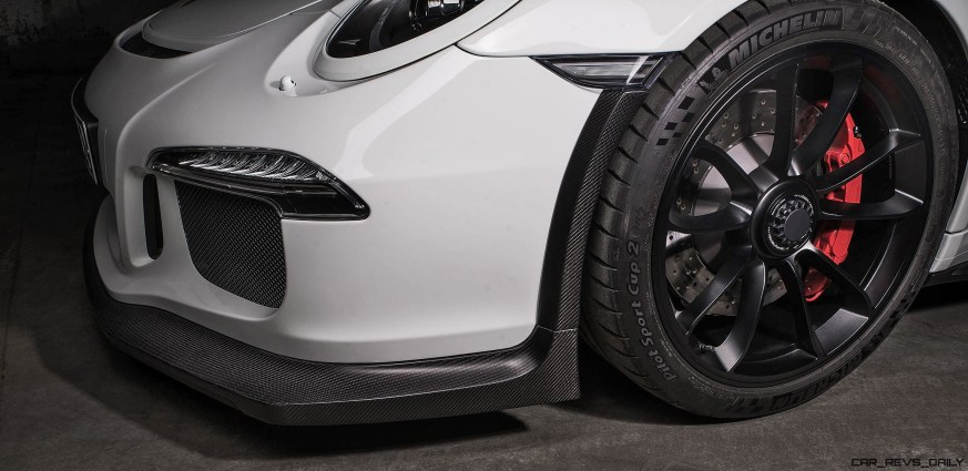 TECHART Carbon Sport Package for the 911 GT3 RS 4
