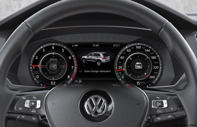 Volkswagen Tiguan Active Info Display