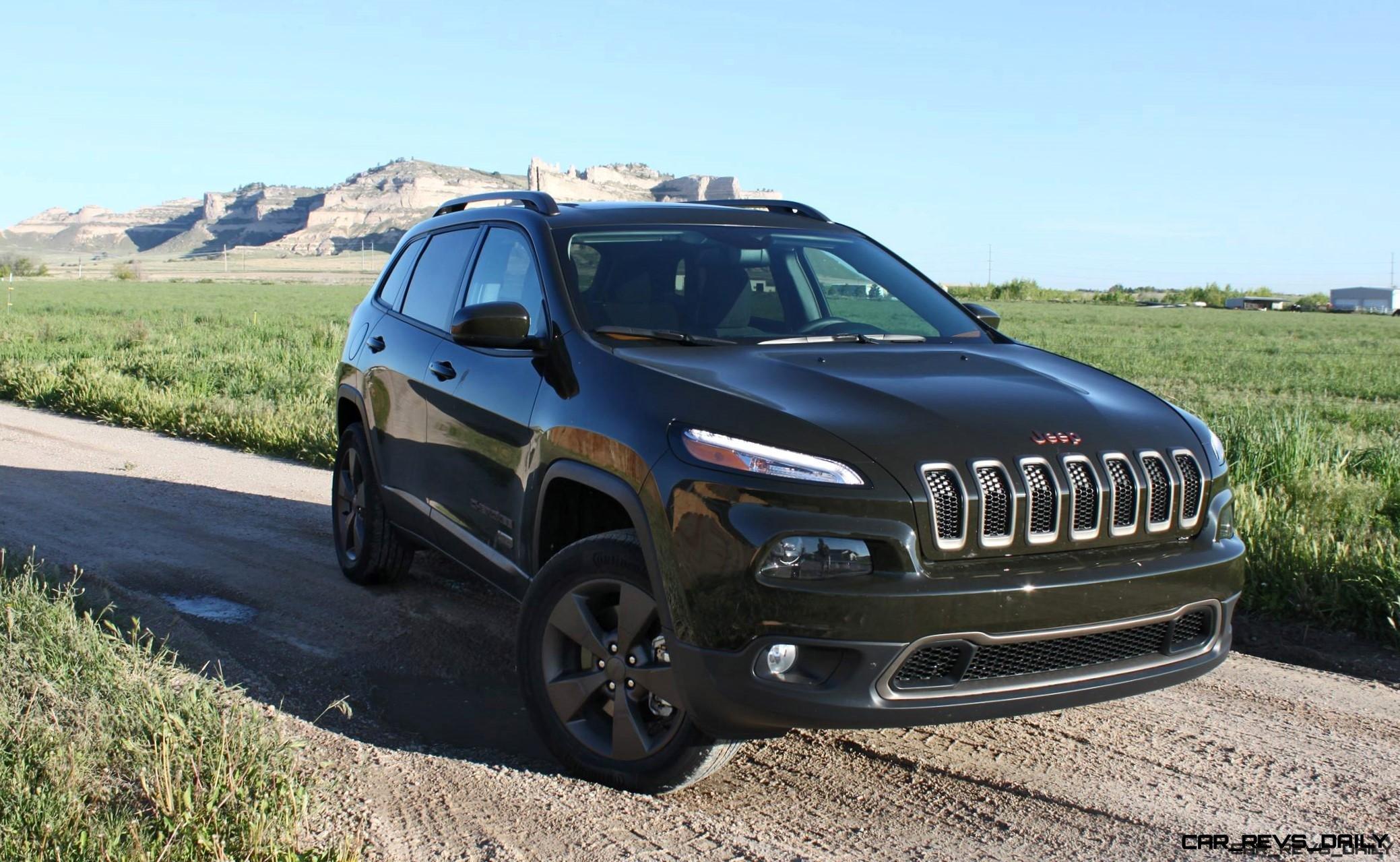 2016 Jeep Cherokee Exterior 4x45 75th Anniversary Edition 6