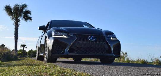 2016 Lexus GS-F Tom Burkart 56