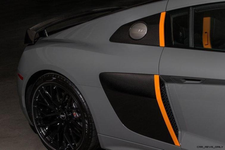 Aud R8 V10 Plus Exclusive Edition (rear scoop)