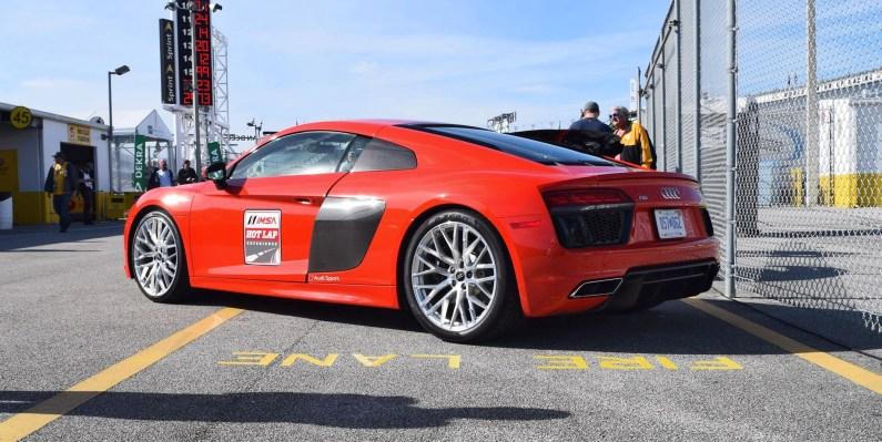 2017 Audi R8 V10 Dynamite Red 4