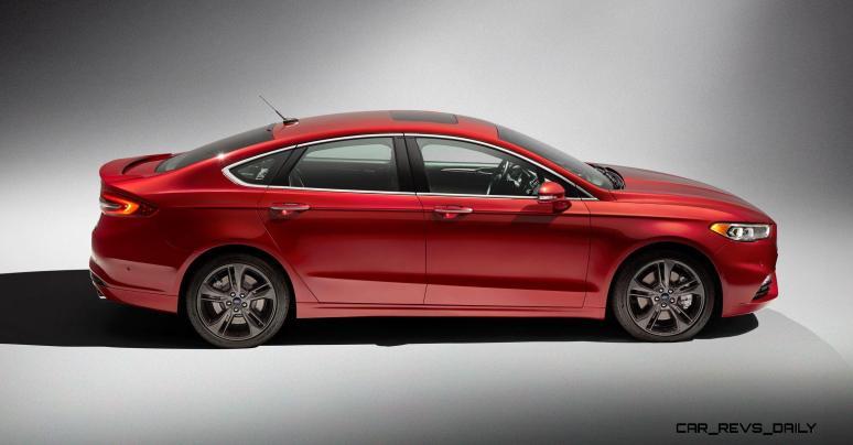 2017 Ford Fusion V6 Sport 4