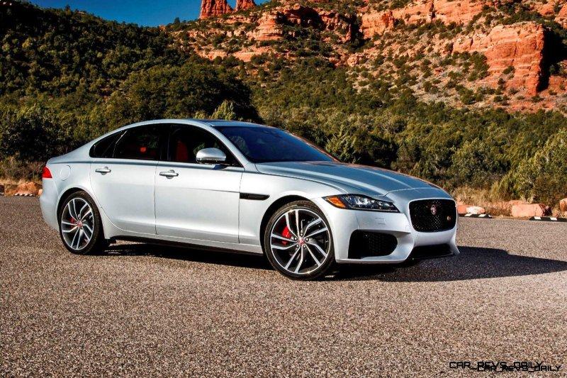 2017 Jaguar XF-S V6 - USA Media Drive 58
