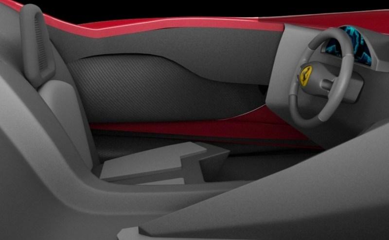 2017 Maserati MC12 Possibly Based on LaFerrari Aliante Spyder by Turin Design Students 8