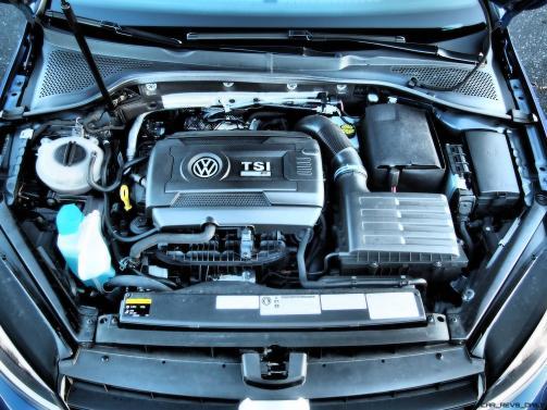 2016 VW Golf R Lapiz Blue by Lyndon Johnson 29