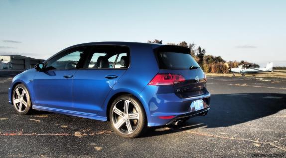 2016 VW Golf R Lapiz Blue by Lyndon Johnson 4