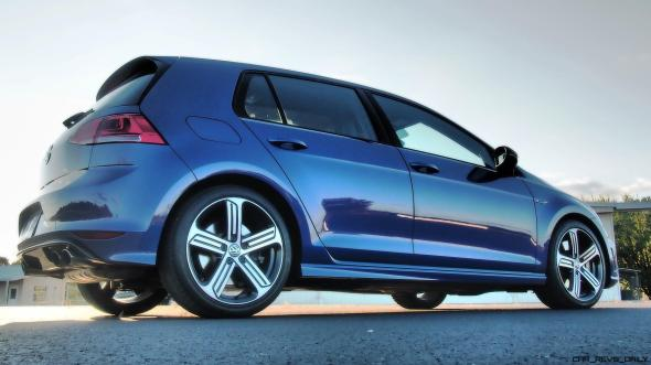 2016 VW Golf R Lapiz Blue by Lyndon Johnson 8