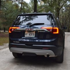 2017 Gmc Acadia With Captains Chairs Office Dallas Slt 1 Fwd Hd Road Test Review
