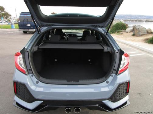 2017 Honda CIVIC Sport Hatchback Cargo Area 1
