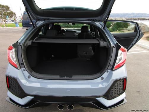 2017 Honda CIVIC Sport Hatchback Cargo Area 3