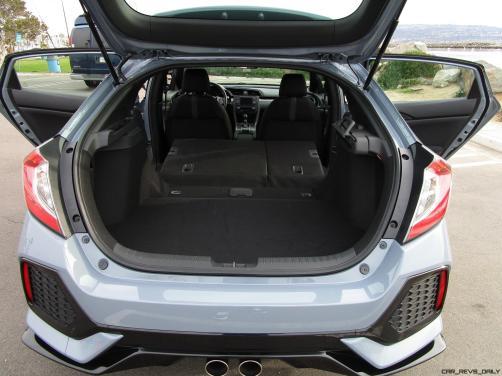 2017 Honda CIVIC Sport Hatchback Cargo Area 7