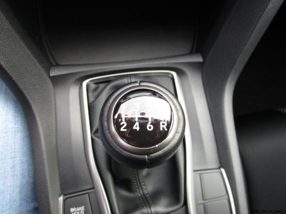 2017 Honda Civic Sport 5-Door INTERIOR PHOTOS 15