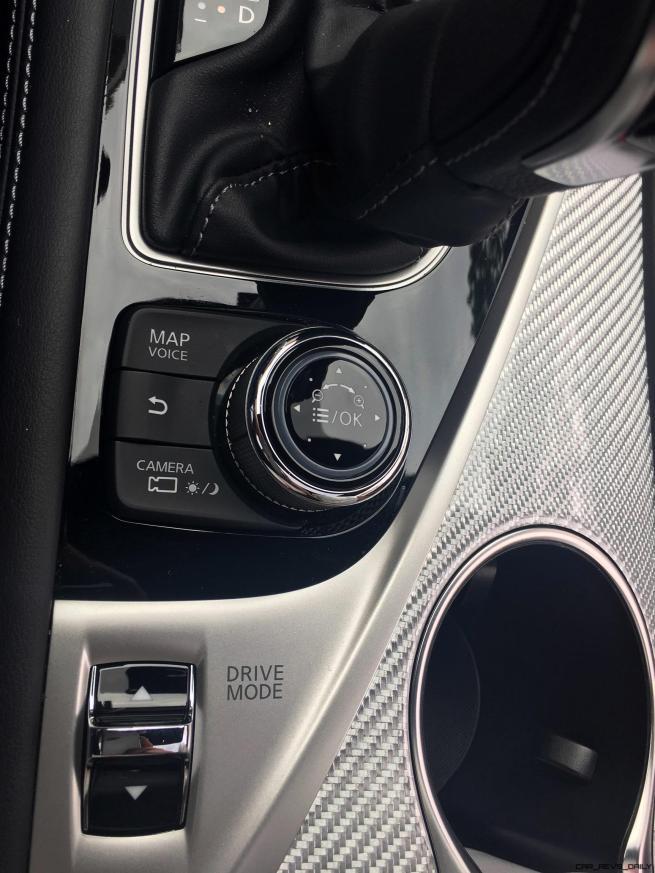 2017 INFINITI Q60 Red Sport 400 - Interior Photos 15