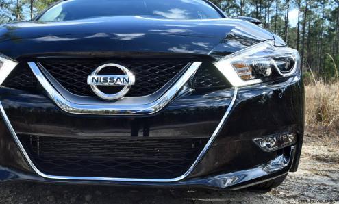2017 Nissan Maxima SR Midnight Edition 10