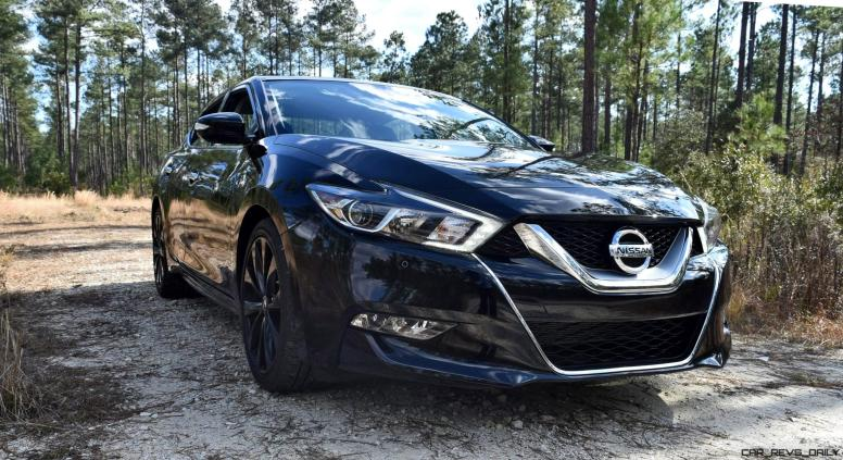 2017 Nissan Maxima SR Midnight Edition 12