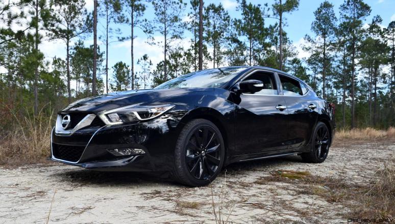 2017 Nissan Maxima SR Midnight Edition 25