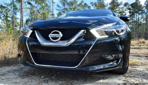 2017 Nissan Maxima SR Midnight Edition 9