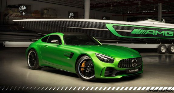Mercedes-AMG and Cigarette Racing celebrate 10 years of collabor