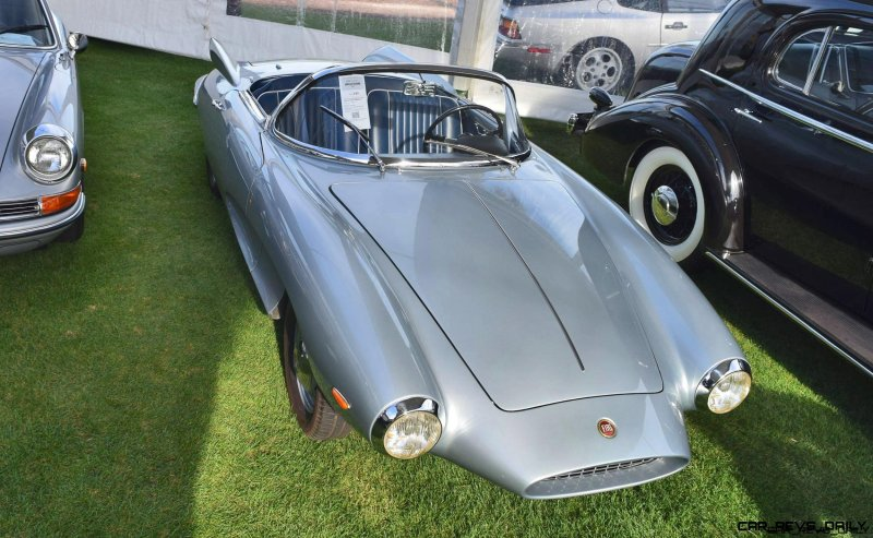 1957 Fiat-Stanguellini 1200 SPIDER AMERICA 8