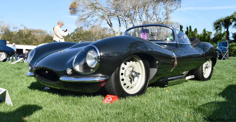 1957 Jaguar XKSS 716 at Amelia Island Concours 18